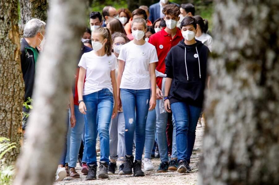 Les filles de Felipe VI ont accepté de participer à l'initiative mise en place pour l'environnement ce 14 juillet