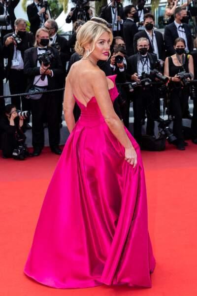 Hofit Golan illumine la Croisette lors de cette 74ème édition du festival de Cannes.