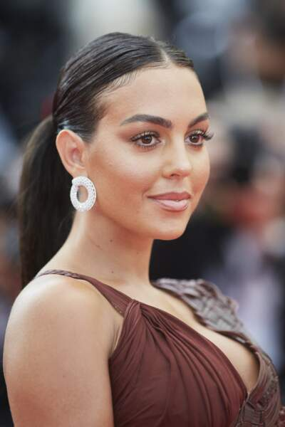 Georgina Rodriguez, très sexy, a enflammé le Festival de Cannes.