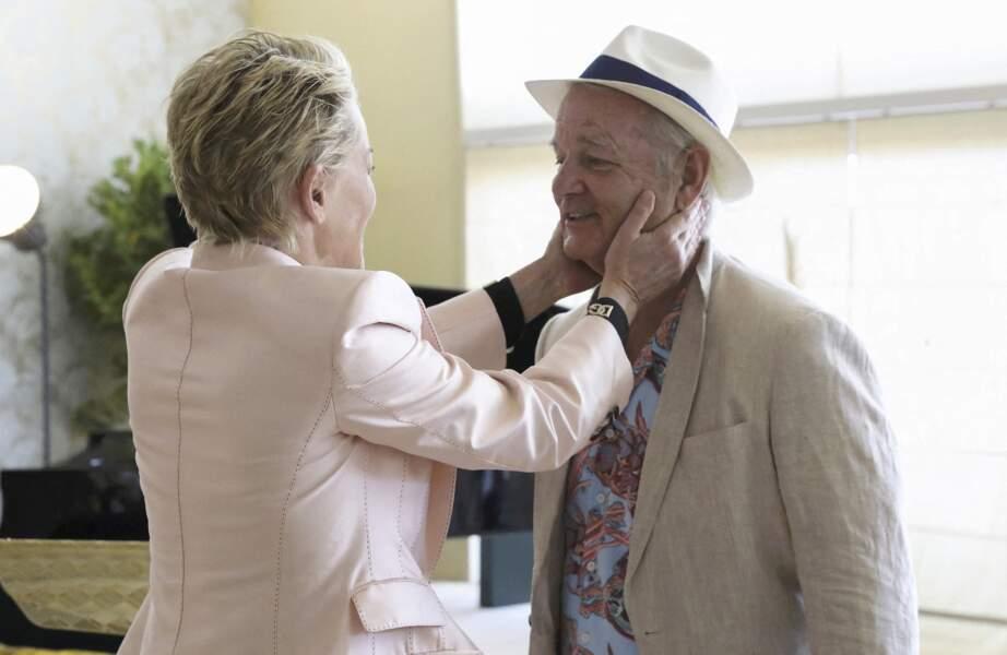 L'actrice américaine Sharon Stone était notamment accompagnée de l'acteur Bill Murray.
