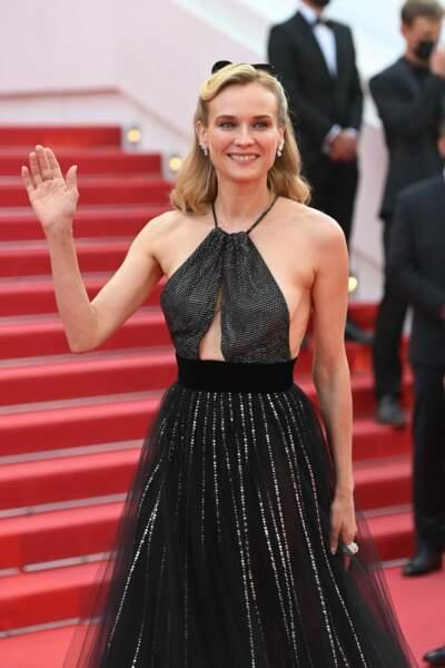 Cannes 2021 : au festival Diane Kruger a misé sur des diamants naturels de la Maison Chaumet
