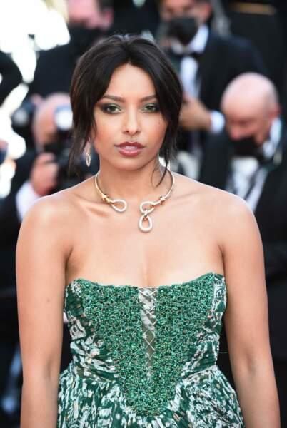 Cannes 2021 : Kat Graham porte une robe Etro et des bijoux en diamants naturels signés Pomelatto