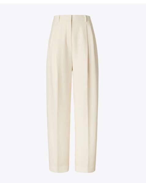 Pantalon en crêpe, 220€, Tory Burch