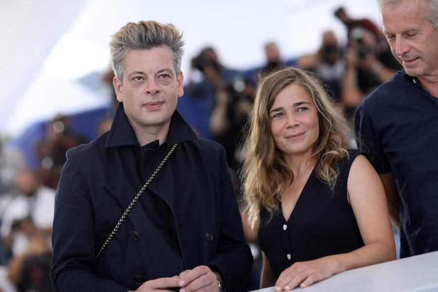 Benjamin Biolay et Blanche Gardin, deux des principaux acteurs du film « France », présenté au 74e Festival de Cannes.