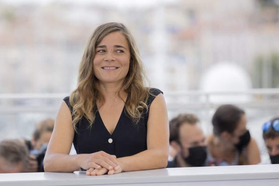 La malicieuse Blanche Gardin au photocall du film « France » au Festival de Cannes, vendredi.