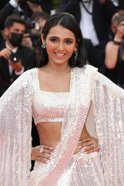 Cannes 2021 : Masoom Minawala a misé sur des diamants naturels signés Boucheron