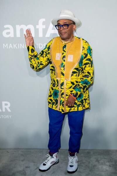 Spike Lee était aussi présent pour le  gala de l'amfAR,  le 16 juillet