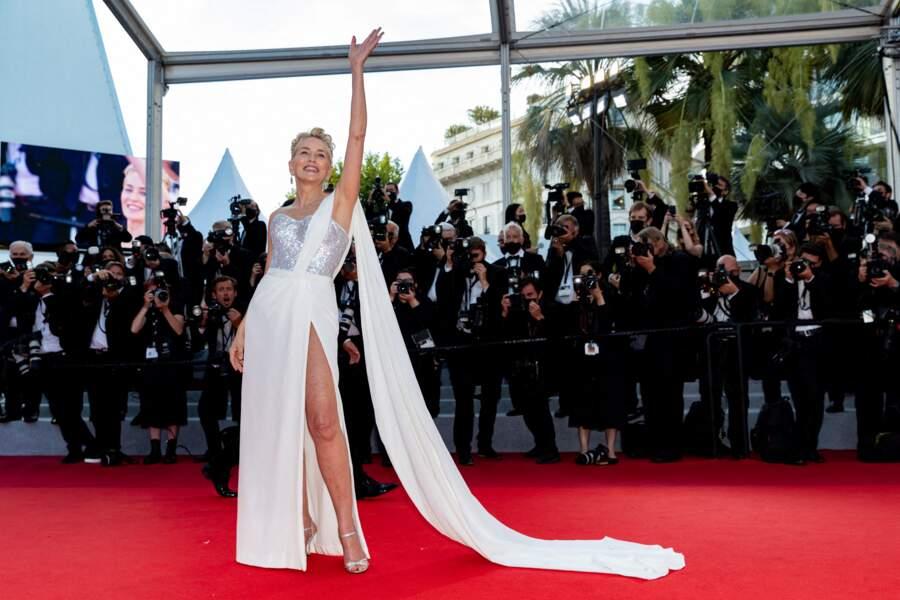 Sharon Stone était tout bonnement magnifique dans sa robe Dolce & Gabbana