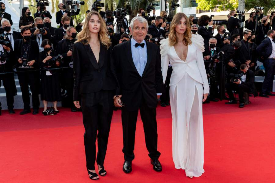 Michel Boujenah et sa fille Louise étaient au rendez-vous, le samedi 17 juillet 2021, pour la clôture du 74e Festival de Cannes