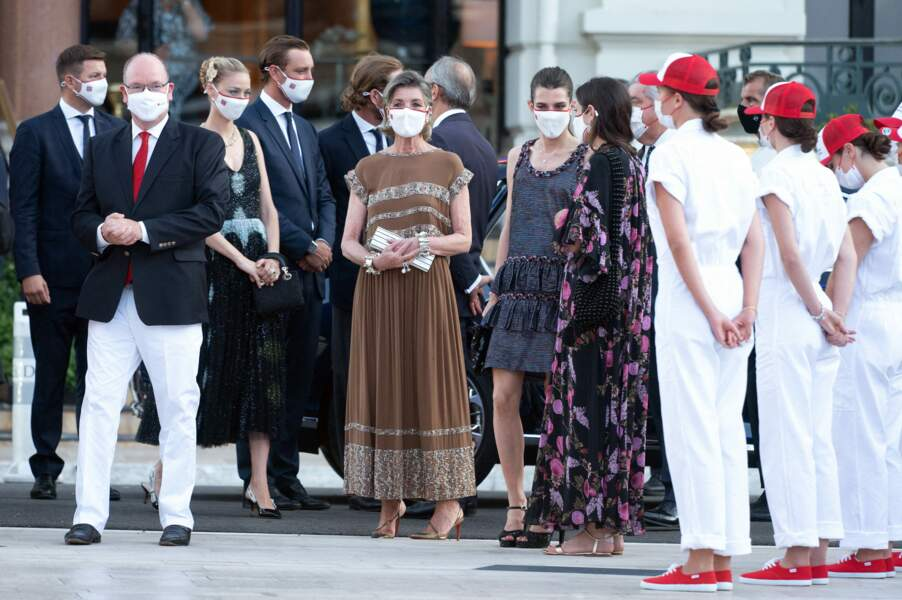 Albert de Monaco a participé à ce grand rendez-vous annuel aux côtés de la princesse Caroline et d'autres membres de la royauté, ce 16 juillet
