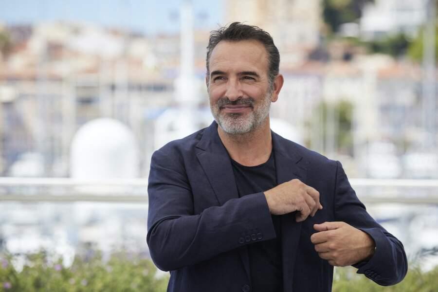 Jean Dujardin au photocall du film Oss 117 : Alerte Rouge au Festival de Cannes, le 17 juillet
