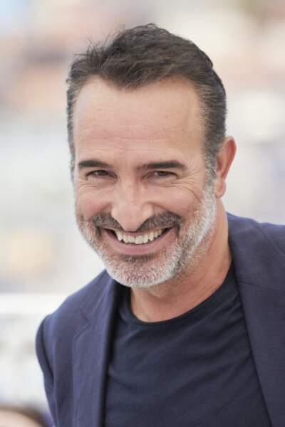 L'acteur Jean Dujardin très heureux d'être présent au Festival de Cannes, ce 17 juillet
