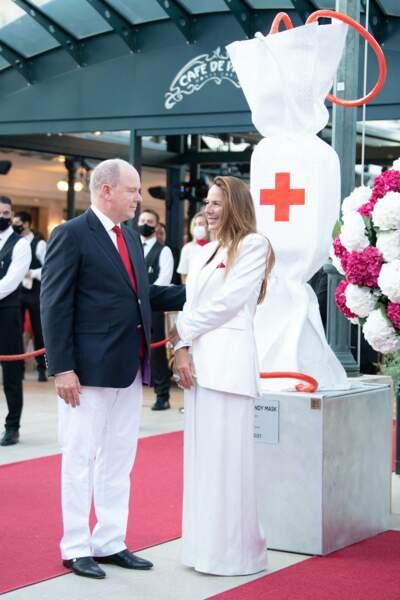 Albert II encore une fois sans Charlène lors d'un événement important, le concert de la Croix-Rouge, ce vendredi 16 juillet