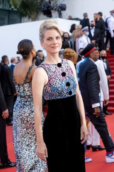 Mélanie Laurent, en Giorgio Armani, dans le jury de ce 74e Festival de Cannes