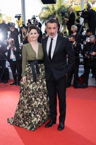 Il y avait de l'amour dans l'air en cette dernière montée des marches du Festival de Cannes ! Nathalie Péchalat était bien présente pour soutenir son mari Jean Dujardin, la star d'OSS 117 : Alerte rouge en Afrique noire