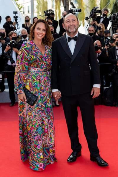 Les couples étaient à l'honneur en cette clôture du Festival de Cannes. Kad Merad et son épouse Julia Vignali ont fait sensation sur les marches, pour la projection d'OSS 117 : Alerte rouge en Afrique noire