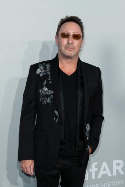 Julian Lennon, le fils de John Lennon a également fait une apparition au gala de l'amfAR à la Villa Eilen Roc, le 16 juillet