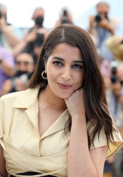 Leïla Bekhti est venue représenter le film Les Intranquilles au Festival de Cannes,  le 17 juillet