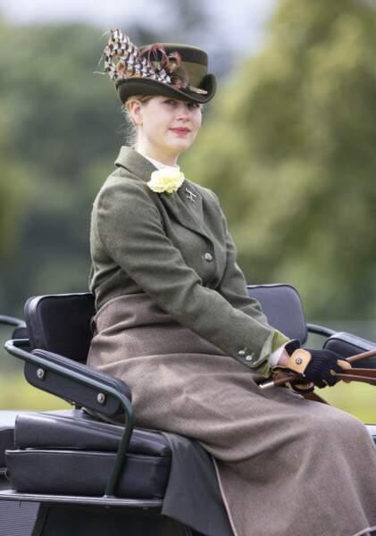 La petite-fille du prince Philipp partage la même passion que son grand-père, la conduite de calèche lors du Royal Windsor Horse Show