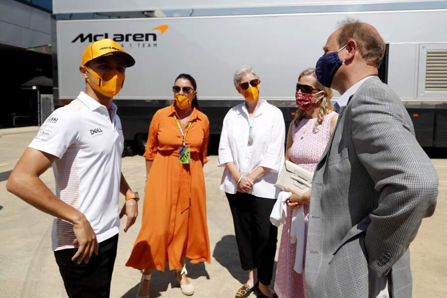 L'équipe soutient le prix créé par le prince Philip et souhaite récolter des fonds