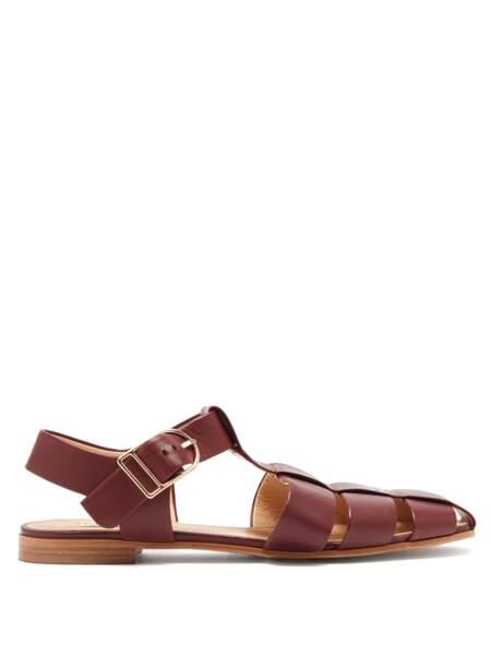 Méduse en cuir Lynn, 690 €, Gabriela Hearst sur Matches Fashion