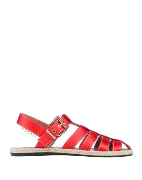 Sandales en fibres textiles, 303 €, Marni