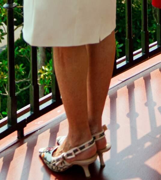 Jill Biden a choisi une paire d'escarpins signée Dior