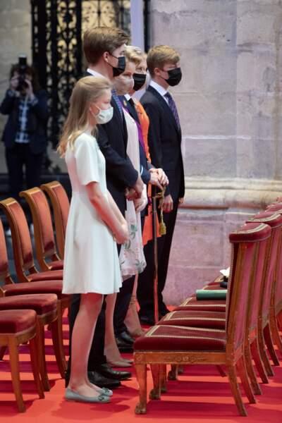 La cérémonie a débuté à 10 heures.