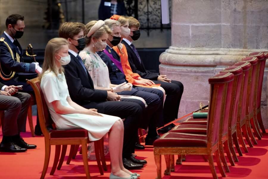 La cérémonie s'est déroulée à la cathédrale des Saints-Michel-et-Gudule à Bruxelles.