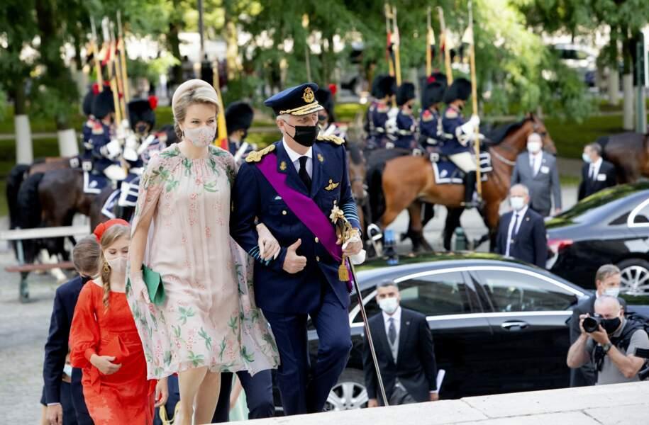 Un moment très touchant pour le roi et la reine de Belgique.