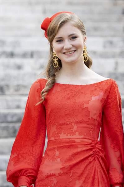 Le princesse Elisabeth a fait sensation lors de la fête nationale belge.