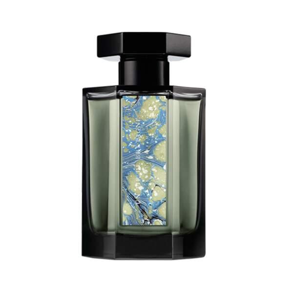 Son parfum : un accord marin frais et salé, inspiré des vagues de l'Atlantique. Un air de Bretagne, 145€ les 100 ml, L' artisan Parfumeur,