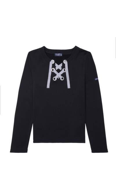 Sweat shirt marin, 149€, Saint James