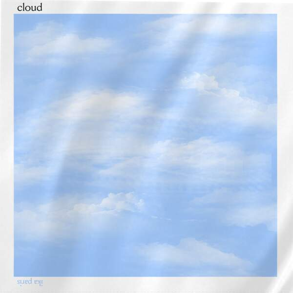 Carré de soie Cloud,90 €, Ika Paris