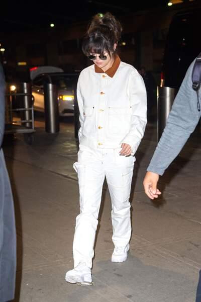 Selena Gomez en 2020 : stylée toute vêtue de blanc