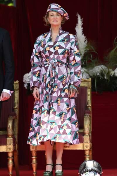 La princesse Delphine assiste à sa première fête nationale de Belgique