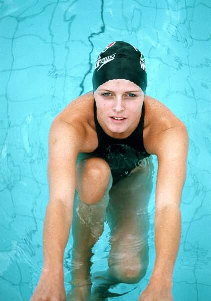 Charlène de Monaco à participé aux Jeux Olympiques en 2006