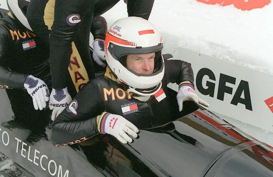 Albert de Monaco en entraînement