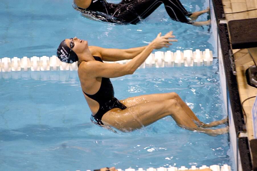 Charlène de Monaco, une grande nageuse