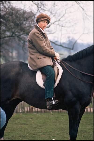 La princesse Anne d'Angleterre, un beau parcours équestre