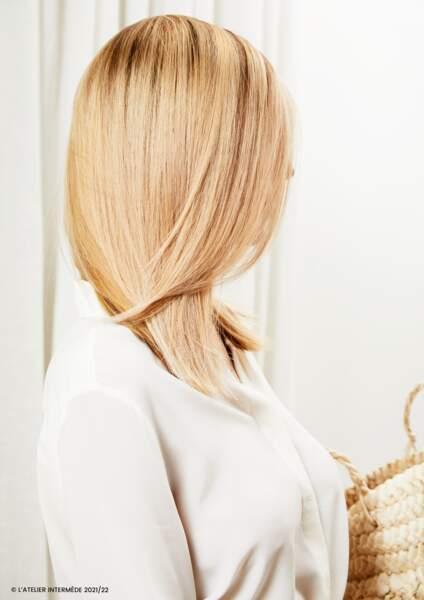 Le blond doré pour celles qui veulent voir la vie en couleur cet automne-hiver 2021/2022
