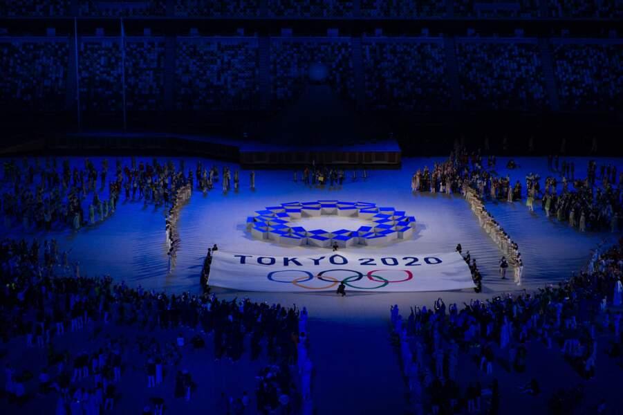 La cérémonie d'ouverture des Jeux Olympiques de Tokyo s'est déroulée le 23 juillet