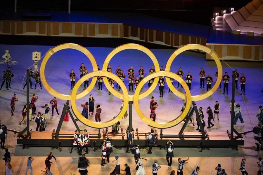 Jill Biden a été photographiée dans les tribunes pendant la cérémonie d'ouverture des Jeux Olympiques de Tokyo 2020, le 23 juillet 2021