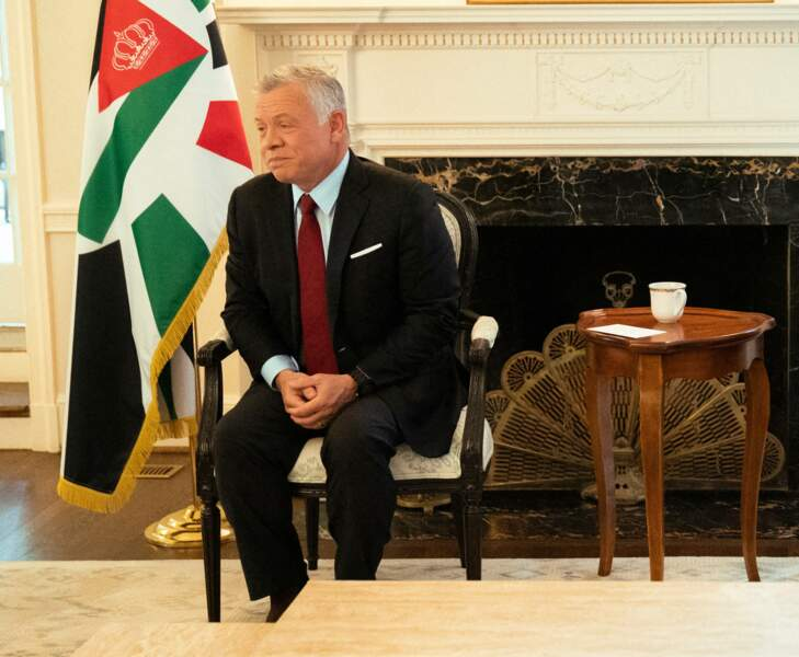 Il y a quelques jours, le roi Abdallah II avait échangé avec le président Joe Biden, trois ans après avoir rencontré son prédécesseur Donald Trump.