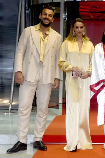 Maxime Giaccardi et Pauline Ducruet sont de nouveau apparus ensemble, cette fois-ci au gala de Fight Aids Monaco, le 24 juillet