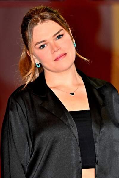 Camille Gottlieb est quant à elle venue avec un ami pour soutenir sa mère lors du gala de Fight Aids Monaco, le 24 juillet