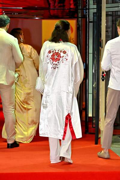 La princesse Stéphanie a fait une apparition remarquée avec ses trois enfants à la soirée d'été de Fight Aids Monaco, le 24 juillet