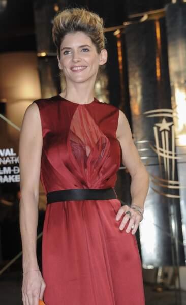 Alice Taglioni avec un chignon rock au Festival du Film de Marrakech