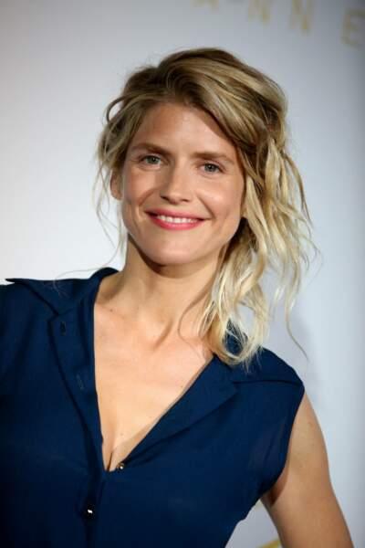 Alice Taglioni en 2015 : un chignon flou au festival de Cannes