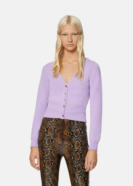 Cardigan en cachemire, 495€, Versace